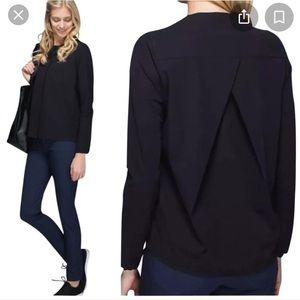 Lululemon solo blouse size 8